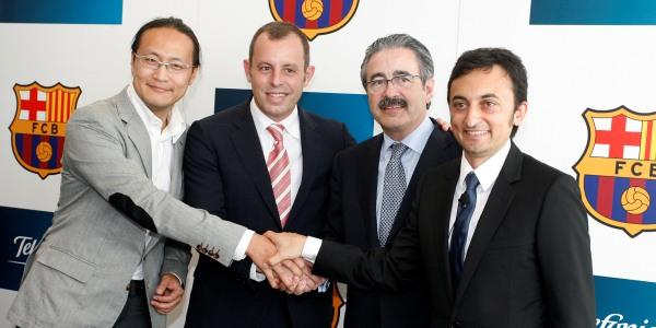 Telefónica y el FC Barcelona se alían para ser líderes mundiales en innovación