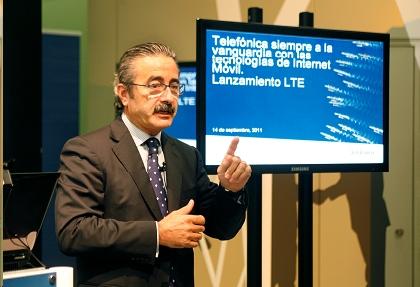 Telefónica presenta servicios 4G